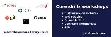 """New """"Core Skills"""" workshop series"""